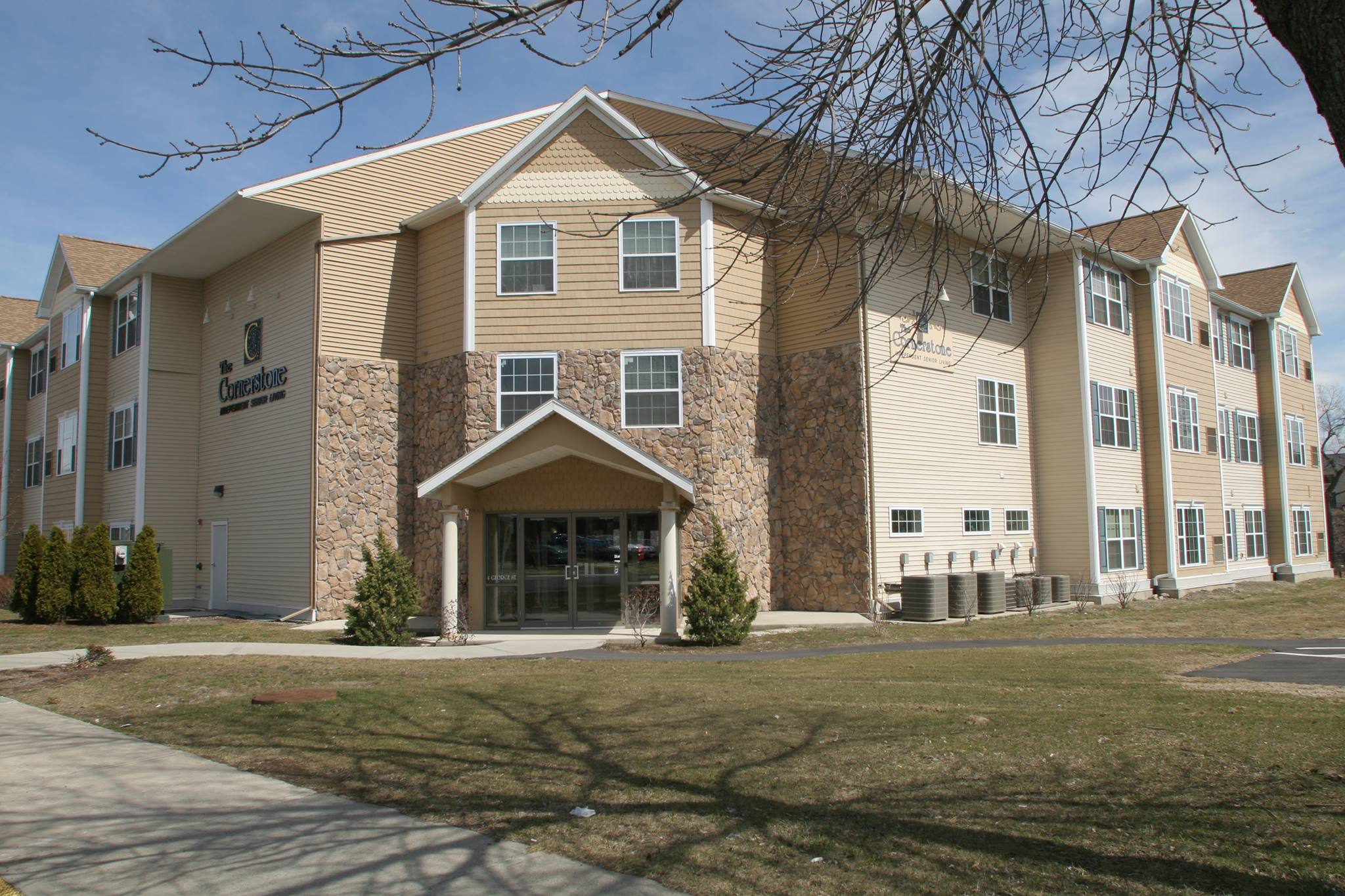 Cornerstone Senior Living Apartments for 55 and over, Green Island, NY, safe and secure apartments overlooking the Mohawk River