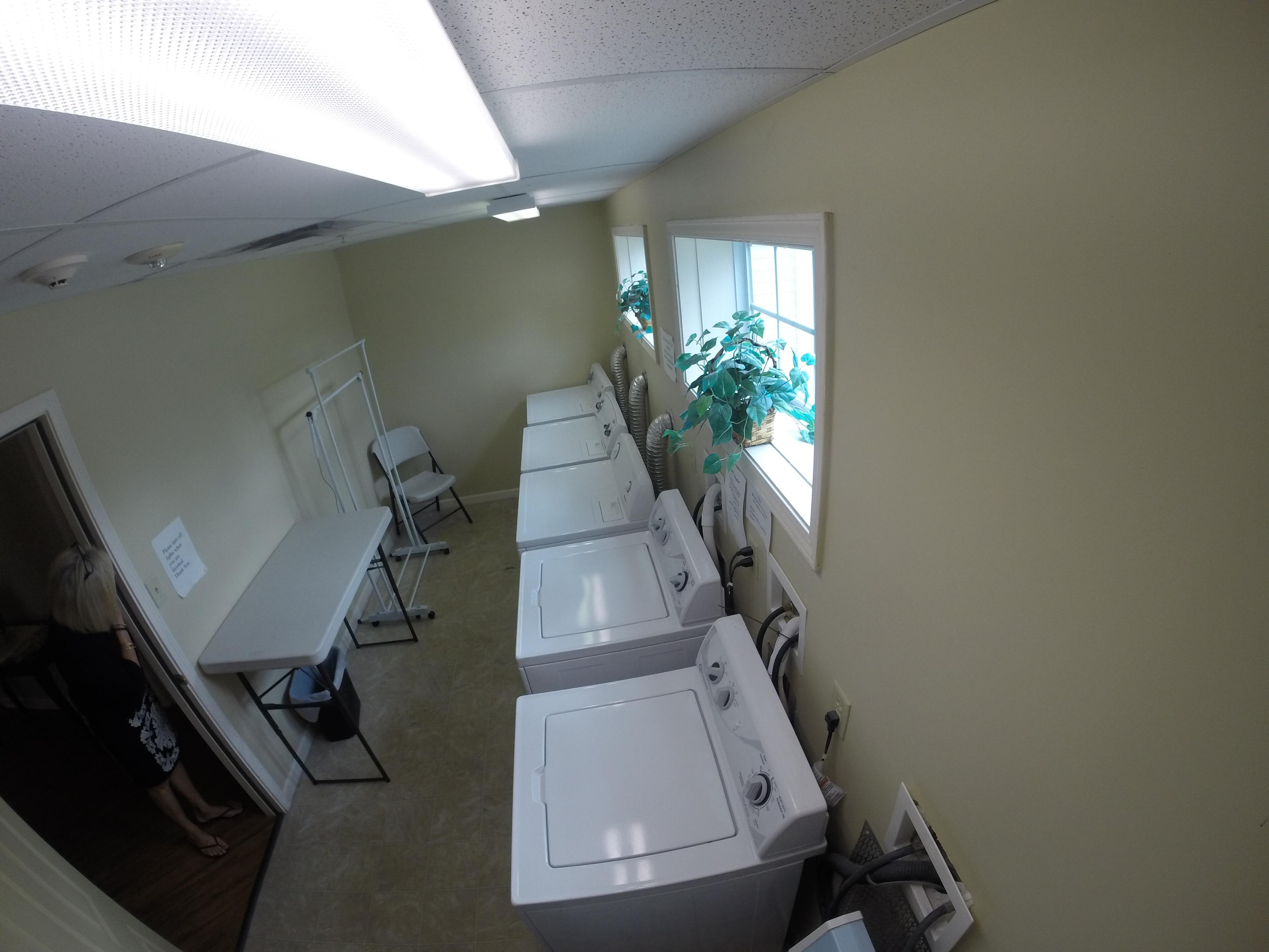Laundry Area, Finning Cornerstone 55+ Senior Living Community Green Island NY