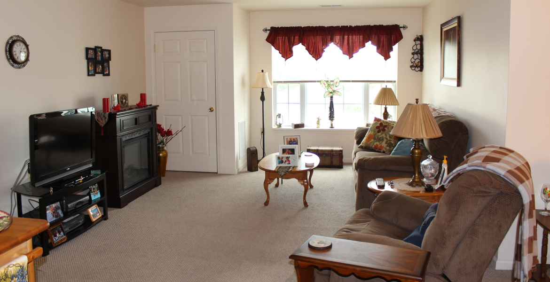 Apartment Interior, Finning Cornerstone 55+ Senior Living Community Green Island NY